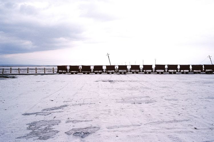 Film Photography Outdoors Sky Cold Temperature Winter Day Built Structure No People Snow Cloud - Sky Nature Architecture Sea Scenics