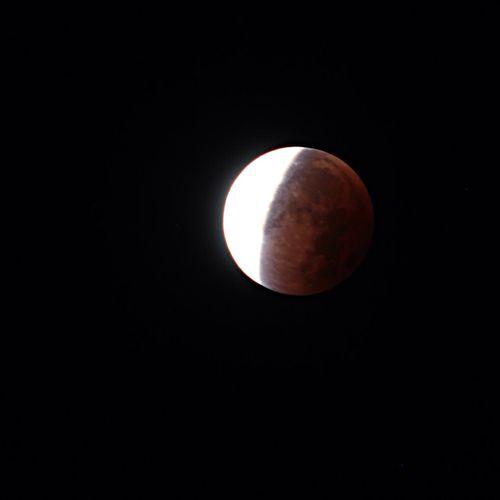 Good Night @ all! Blutmond Bloodmoon Moon EyeEm Nature Lover EyeEm Best Shots - Nature EyeEm Best Shots Insteadofsleeping Tadaa Community LastNight Whatever
