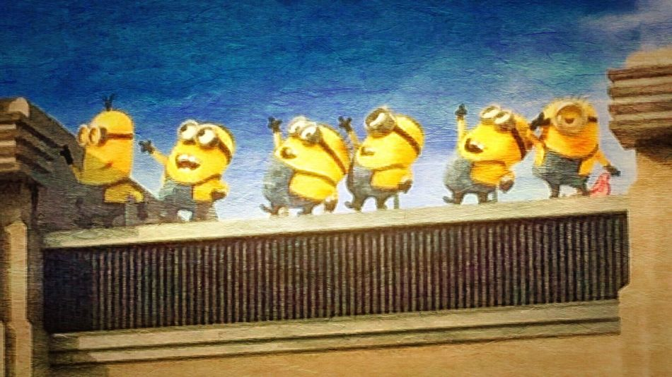 Minions! Universal Studios, CA First Eyeem Photo Better Together Cali Vaca 2015 Minions