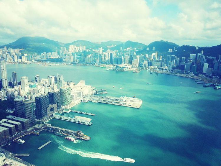 Hong Kong Sky100 Sea View Blue Sky
