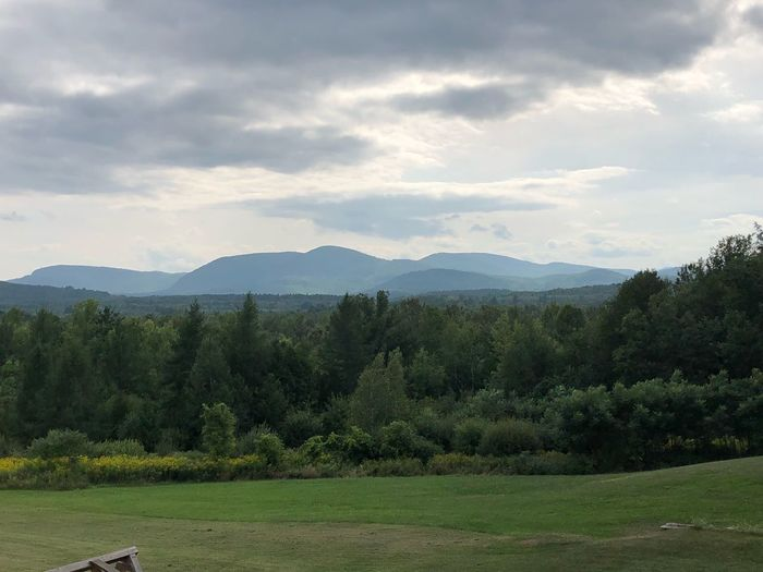 Upstate NY Upstate New York Tree Plant Sky Cloud - Sky Beauty In Nature Mountain Tranquility Tranquil Scene Scenics - Nature Mountain Range