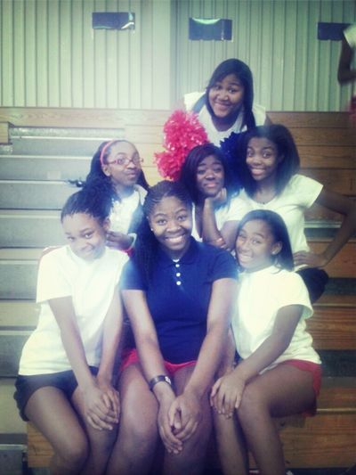 Some Of My Cheer Babiess.