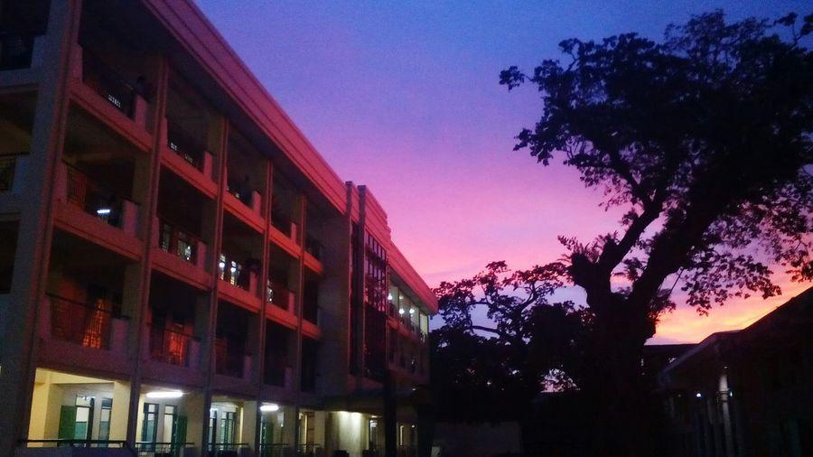 Night Illuminated , Pagcor Building, Camarines Sur National High School