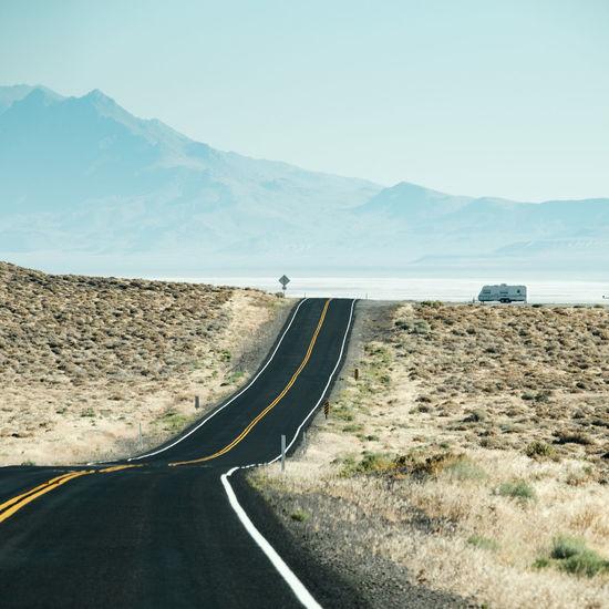 Road to Burning Man 2016 - Nevada desert BM BM2016 BurningMan2016 BurningManFestival Desert Desert Beauty Desert Landscape Nevada Nevada Desert Nevada, USA NEVADA, USA!♡ Road Roadtrip