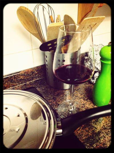 Qué Bien Se Cocina Con Vino!