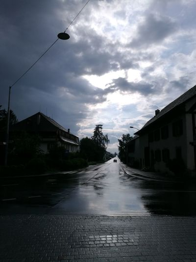 after rain clouds Water City Wet Sky Rainy Season Rain
