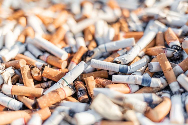 Cigarettes stub