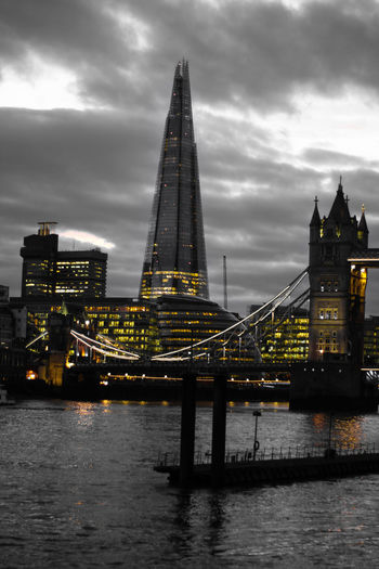 After-dark Night Shard London Bridge Architecture Travel Destinations City Sky Tower Bridge, London Tones Street Photography Europe City Life Wide Angle Dramatic Sky Lithuanian Cloud - Sky London Skyscraper Architecture Exploring River Water Travel Photography Lights Office Building Exterior Business Finance And Industry