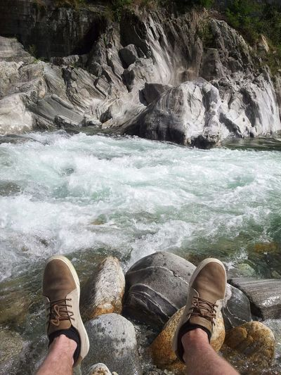 In love with that River, Maggia. Tessin And I