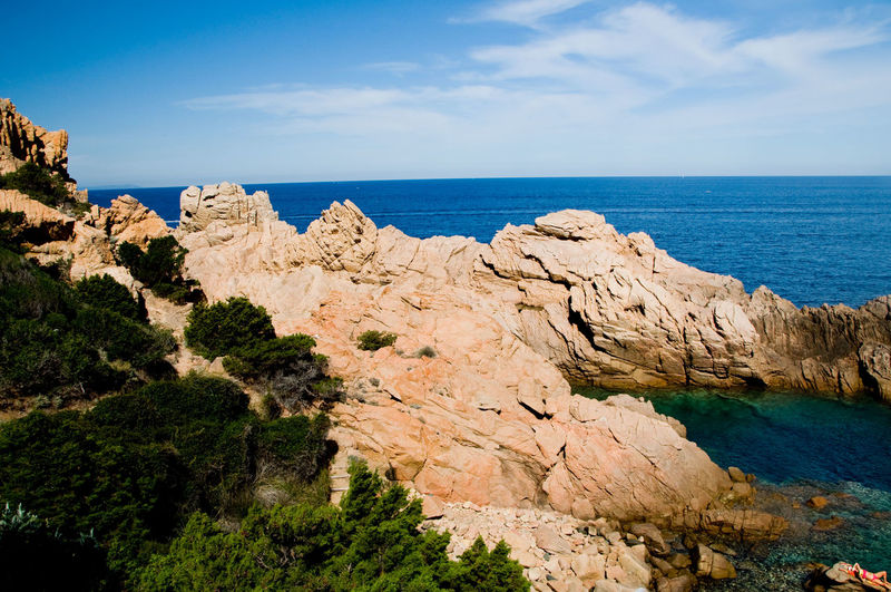 costa paradiso sardinia Sardinia Sardinia Sardegna Italy  Sardinia,italy Sardegna Sardegnaofficial Sea Water Rock Sky Rock - Object Scenics - Nature Beauty In Nature Tranquility Tranquil Scene Rock Formation Nature Day No People