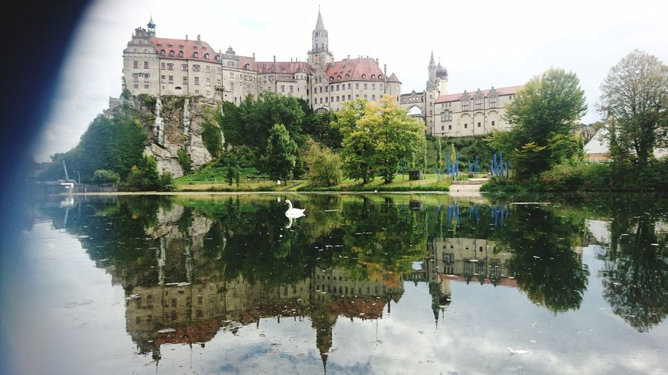 Been There. Reflection Water Lake Tree Outdoors Sky Day Building Exterior Architecture Travel Destinations City Built Structure No People Sigmaringen Castle Politics And Government