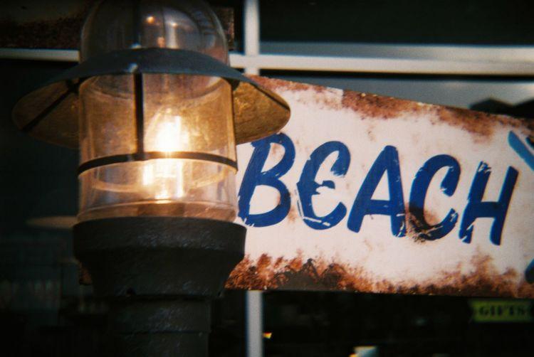 Analogue Photography Plastic Lens Lomography DIY Anologphoto Analog Camera Konstruktor Light Signage Beach Built By My Self. No Edit/no Filter
