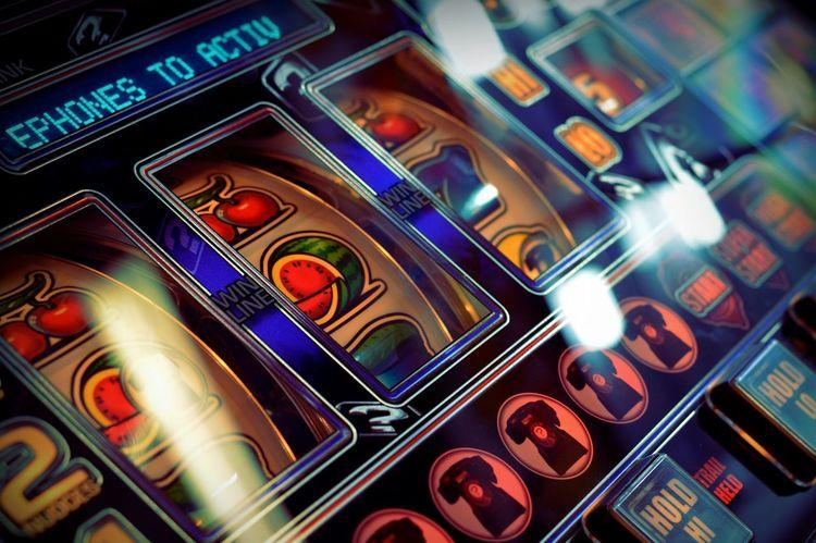 Fruit machine Close-up Selective Focus Arcade Arcade Games Arcade Machine Arcade Feeling Gambling
