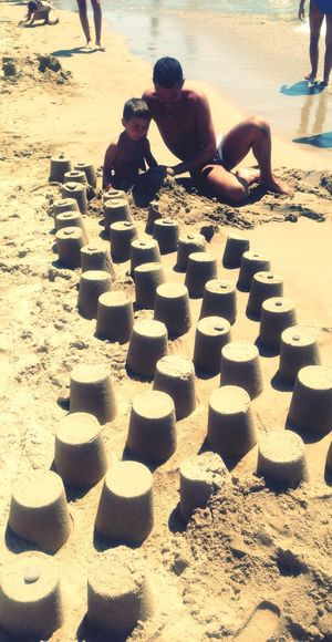 EyeEm_crew Enjoying The Sun Sandcastles Hello World