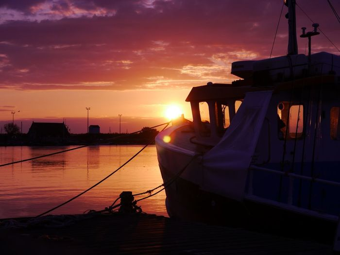 Norfolk Uk Wells-next-the-Sea Fishing Boat Sunset Calm Goodnight 2015  enjoy my work 👍📸👍 First Eyeem Photo