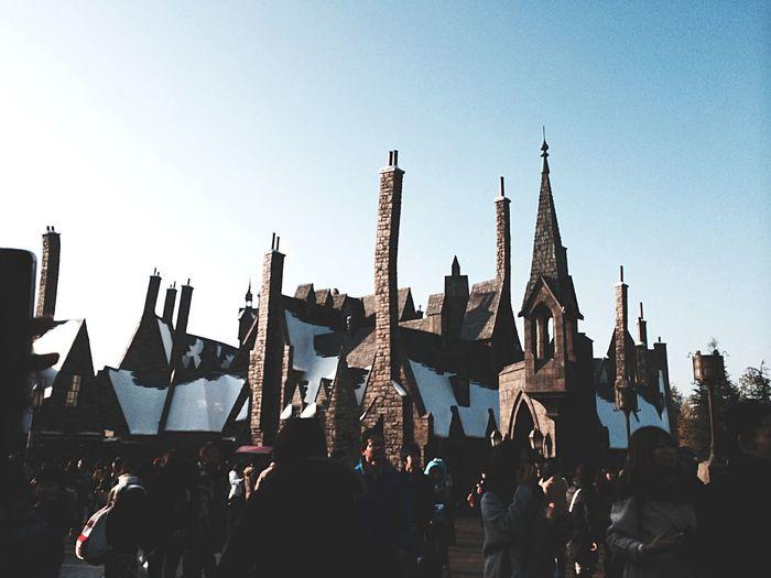 Hogsmeade Harrypotter Hogwarts USJ In Osaka