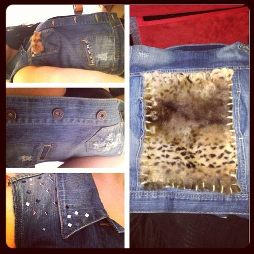 Check Out My New Vest, Just Finished Today! -Creations By Mayra Ramirez Let Me Know What You Think!!