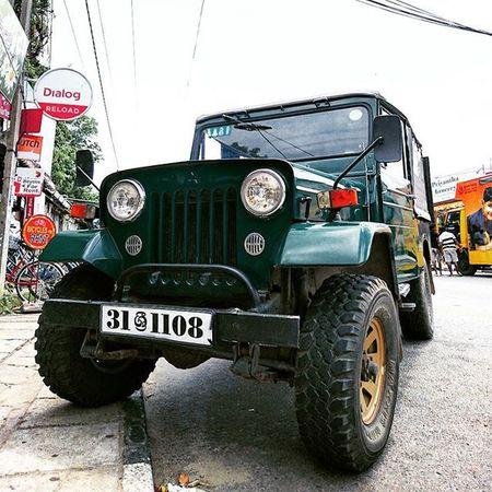 =_= Mitsubishi 三菱 Car Oldcar offroad srilanka polonnaruwa