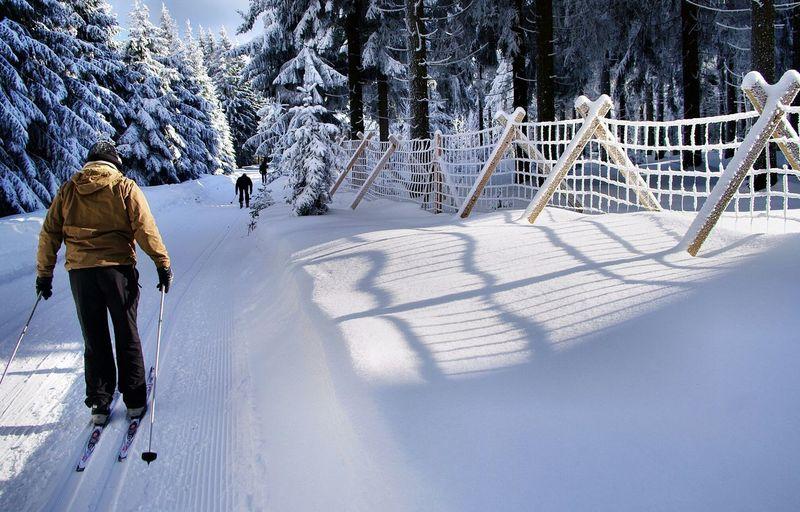 Winter White By CanvasPop Oberhof Thüringer Wald