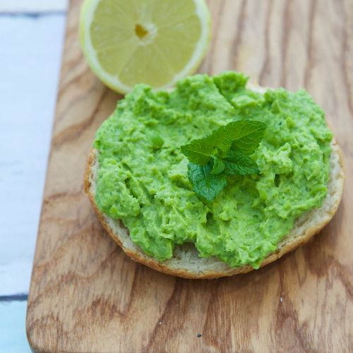 Close-up Composition Food Freshness Healthy Eating Healthy Lifestyle Organic Peas Sandwich Superfood Vegan Food