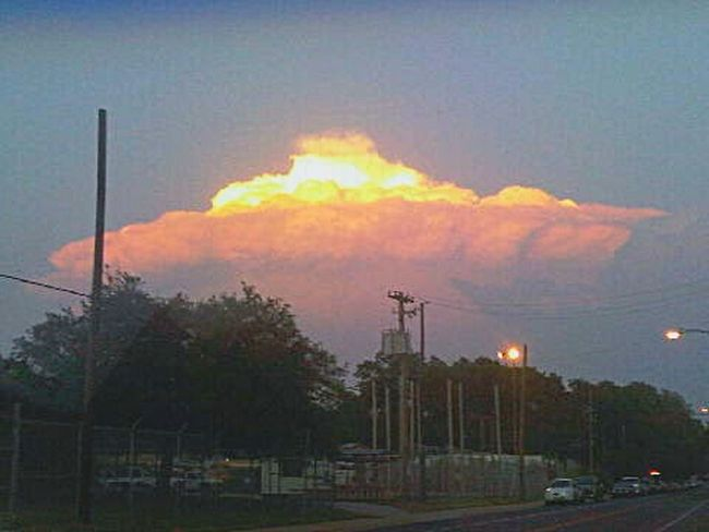 Crazy Skies in East Side of Austin Texas. Eyem Gallery