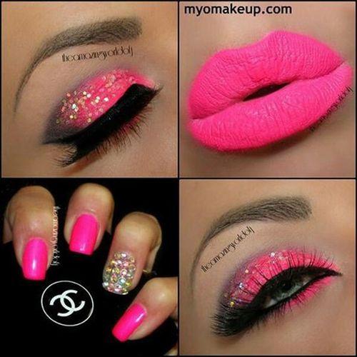 Pinkmakeup Pinklips Inthepink Pinkeyesandlips Pinkeyes Pinkeyeshadow Pinklips Pinklipstick Pinknails Eyesandlips Eyes Eyemakeup Eyecolor Eyeshadow Makeup Lips Lipstick Beautifulmakeup Gorgeousmakeup Nails