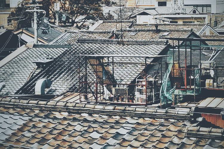 ゆ2017JapanPics VSCO Vscocam ゆ京系列 屋根 Roof 屋頂 at 下京区 Kyoto, Japan