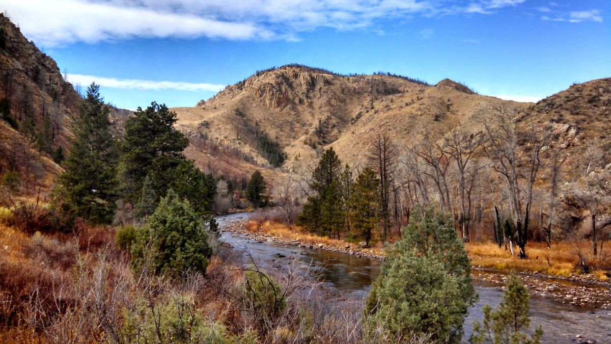 Cache la Poudre River, CO Landscape Nature Wilderness No People Scenics Beauty In Nature Outdoors Colorado Photography Colorado Water Mountains