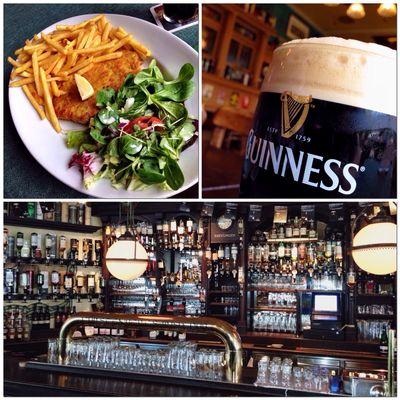 SchniPoSa mit Guinness im Irish Pub... #schnitzelTUT