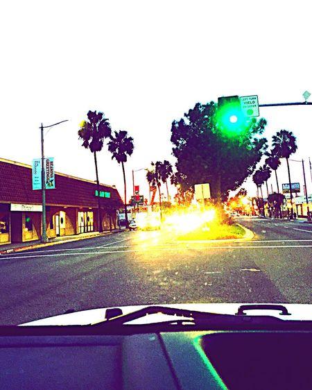Enjoying Life Memorable Colors Sunset