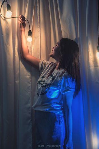 Becoming the LIGHT of the World. Matt 5.15 LightOfTheWorld Matthew516 #HUAWEI Photo Award : After Dark Curtain Side View Long Hair Close-up Pretty