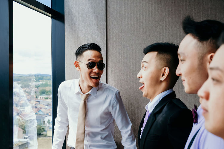 My last wedding photoshoot in 2018 Group Of People Men Young Adult Young Men Corporate Business Office Colleague Adult Males  Well-dressed Cooperation Coworker Teamwork Portrait Suit People Smiling Formal Businesswear Moment Moments Of Happiness 2018 In One Photograph Wedding Wedding Photography