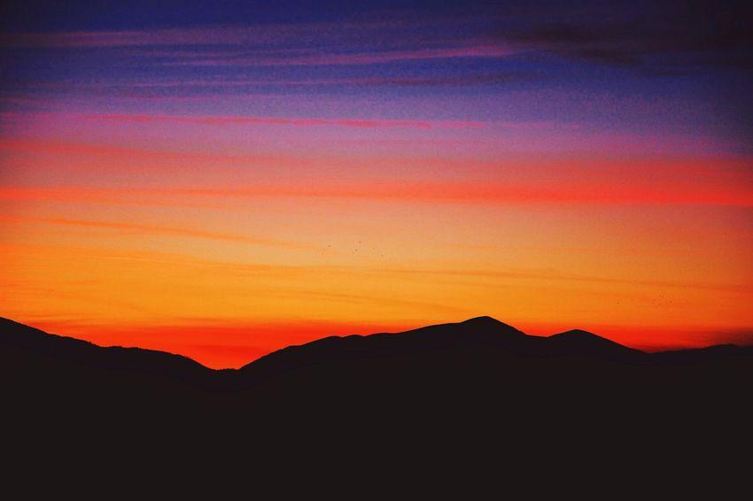 Colorful Sky - Colorful Sunset VSCO Vscocam