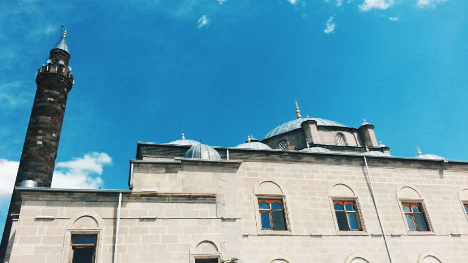 Mosque Mosque Turkey Mosques Of The World Blue Sky Sky Travel City Travel Destinations