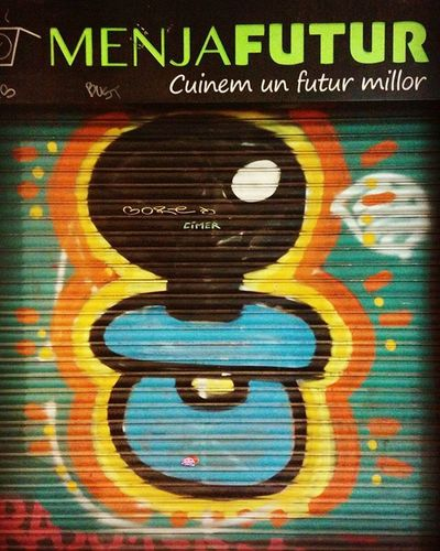 @elxupetnegre Streetartbcn Streetart Bcnstreetart Graffiti Instastreetart Instaphoto Tv_streetart