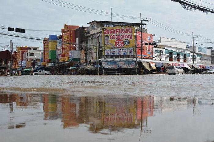 SakonNakhon ,Thailand Day Flood Outdoors