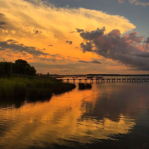 Check This Out Sunset Beach OBX Clouds And Sky Showcase July
