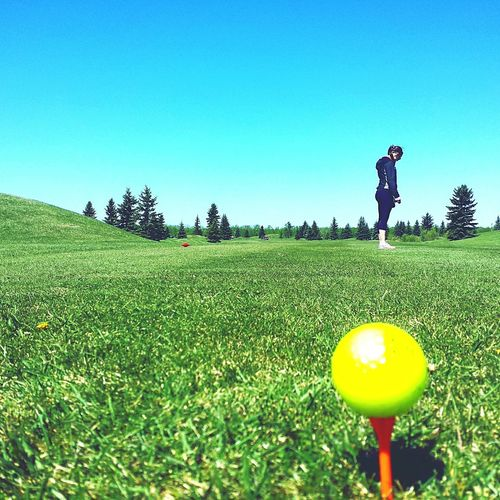 my hobby golfing my wife ♡ lovesofmylife First Eyeem Photo