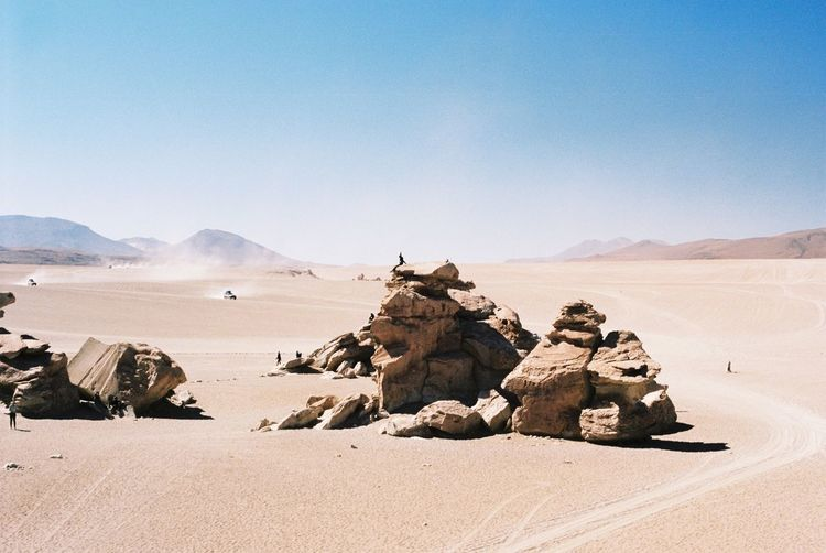 35mm Film Analogue Photography Arid Climate Beauty In Nature Day Desert Filmisnotdead Geology Landscape Mountain Nature Outdoors Real People Scenics Sunlight Tranquil Scene