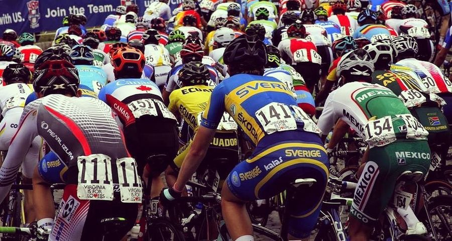 2015 UCI World Cycling championship Ucicycling Peter Sagan Rainbowjersey Cycleworld Editorial Use Only Pelaton Bicycle Race Richmond, VA Uciworldchampionships Roadrace Bora Bmc Sky Quickstep Tinkoff National
