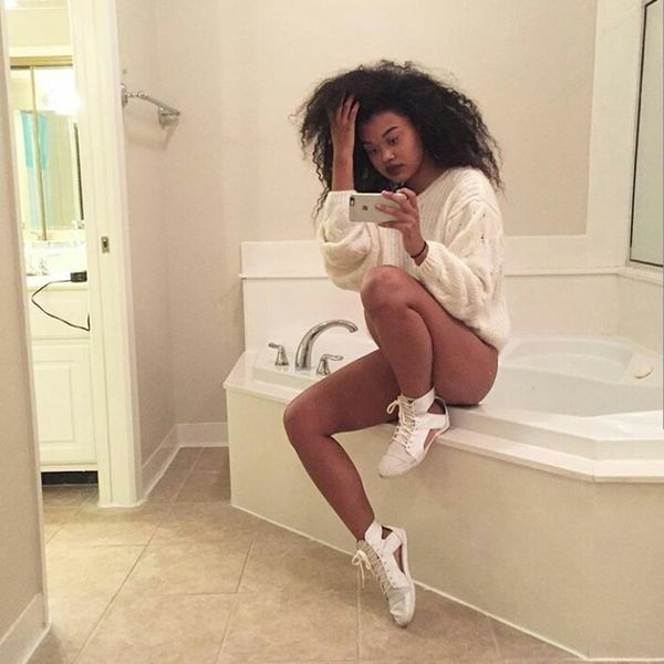 Bathroom Selfie Selfie✌ Selfie ✌ Long Hair Longhair Curly Hair Curlyhair Natural Hair Naturalhair Natrualbeauty Natrual Beauty  Gorgeous Aesthetics Fashion Model Urbanstyle Urban Fashion Blasian  Blasian Beauty  Mixed Girl