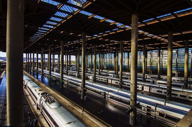 Atocha Renfe Transportation Built Structure Madrid ❤ Madrid,spain Madrid Taking Photos Madridgrafias