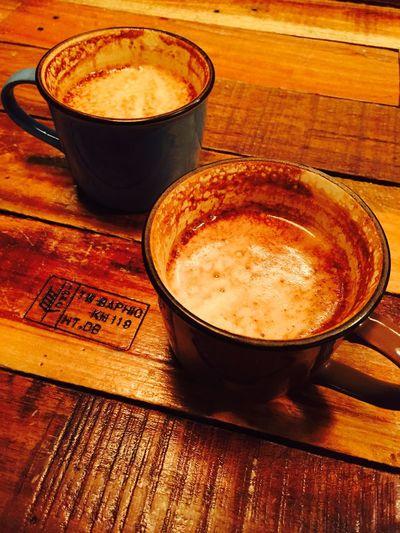 Offline Café. with who? Secret!