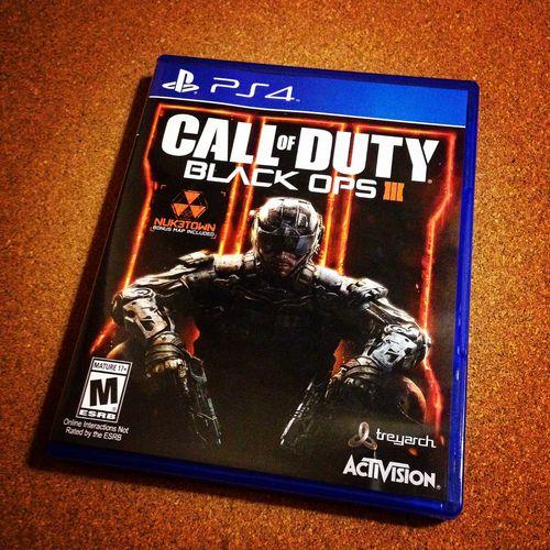 COD: Black Ops III Playstation PS4 Sony Gaming Gamer Blue Activision Treyarch Nuketown Havok  Zombies