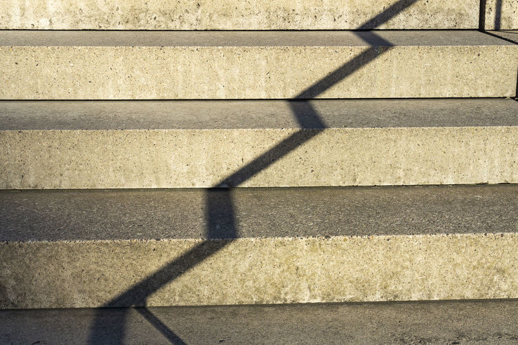 Berlin, Germany, September 27, 2018: Full Frame Close-Up of Shadow of Railing on Stairs Berlin Copy Space Germany 🇩🇪 Deutschland Horizontal Architectural Feature Architecture Backgrounds Brown Built Structure City Color Image Day Focus On Shadow Footpath High Angle View No People Outdoors Pattern Railing Shadow Staircase Stone Material Sunlight Sunny Yellow