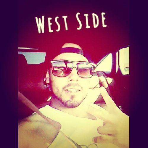 West side baby ... CaliLivin Westside WestCoast ChillingWithTheHomie InnoutInlandEmpireAudiGangFourRingsGangsShadesTankTopPomTreezXHoe