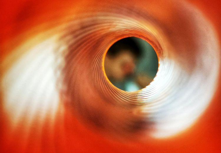 Detail shot of orange