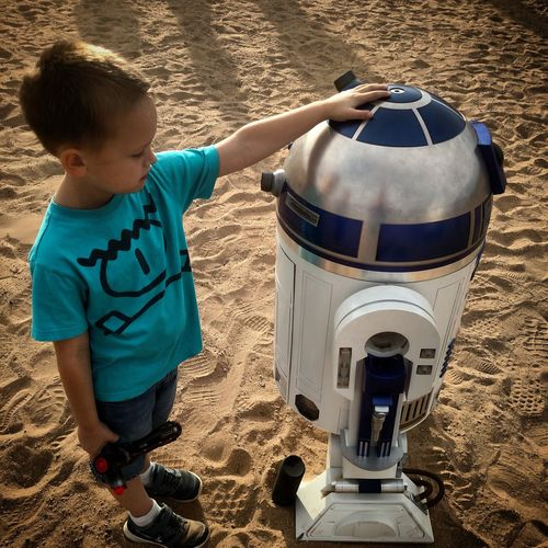 R2D2 Droid Starwars Star Wars Yuma Yumaaz Desert