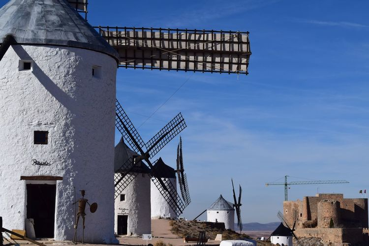 EyeEm Selects Built Structure Architecture Alternative Energy Fuel And Power Generation Building Exterior Renewable Energy Outdoors Sky Traditional Windmill Windmill Wind Power Nature Donquijotedelamancha Consuegra CastillaLaMancha Travel Destinations Tranquil Scene Travel Tourism