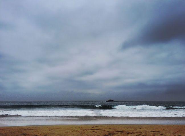 IPhoneography Reñaca Cloudy Viña Del Mar Ocean